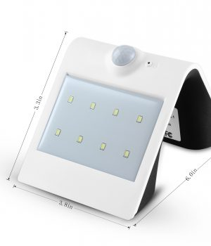 SMART LED Solar Sensor Wall Lamp